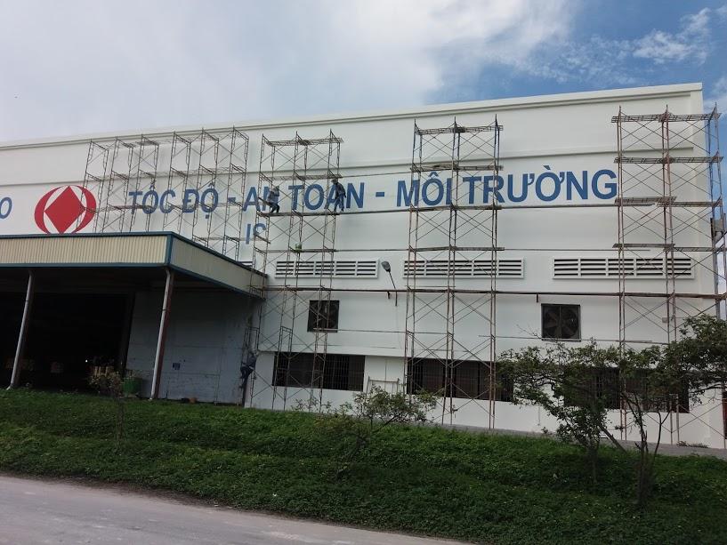 Sửa chữa nhà máy chế biến gạch Taicera - Đồng Nai
